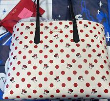 Disney Parks Kate Spade Minnie Mouse Polka Dot Tote Bag Purse New 2021❤️