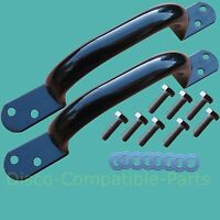 Land Rover Defender Rear Crossmember Grab Handles + Stainless Bolts NTC5116