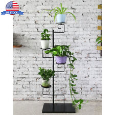 Vintage Plant Flower Display Stand Metal Shelf Storage Rack Outdoor Pot Candle
