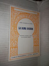 LA DAMA DUENDE Pedro Calderon De La Barca Signorelli 1962 Nicolosi Naretti libro
