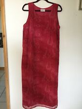 Sara Woman Maxi Dress Size 18 Paisley Print