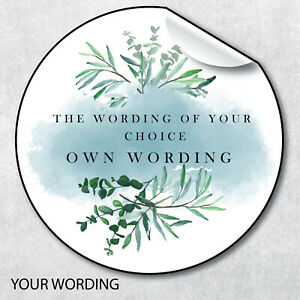 Personalised Stickers, Wedding Stickers, Engagement Favour Labels, Own Message