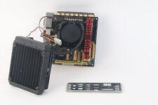 Asus Z87I-Deluxe LGA1150 Mini-ITX Motherboard Intel i7-4770K Asetek 550LC W/ Fan
