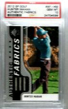 2012 SP Golf Hunter Mahan Authentic Fabrics PSA 10