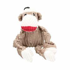 Woodland Small Sock Monkey Knottie Plush Durable Dog Puppy Toy 6x12x22cm