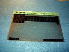 YAMAHA IT465H IT 465 H 1980 GEN PARTS CATALOGUE MICROFICHE