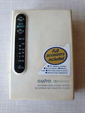 🎧 SUPER RARE SANYO JJ-F6 Cassette Player - Walkman with AM-FM radio