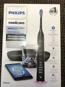 Philips Sonicare DiamondClean Smart 9400 Electric Toothbrush - Black