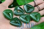 Green Nephrite Jade Maori Mobius Strip Twist Pendant Moebius Band Necklace
