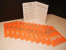 Happy Birthday Greeting Card - 1970 1971 1972 1973 1975 1976 1977 1978 1979