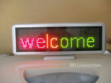 16x64 Desk board Programmable LED Message Sign Scroll Moving Display 3 Color
