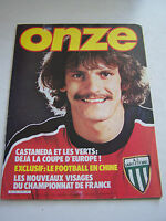 MAGAZINE FOOTBALL ONZE N° 68 EN TRES BON ETAT . VOIR DESCRIPTIF .