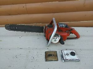 Remington sl9 vintage chainsaw,Remington chainsaw sl 9  Does fire with spray