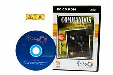 Commandos Beyond The Call of Duty PC Game RTS Strategy WW2 War