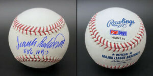 Frank Robinson SIGNED ROMLB Baseball + 586 HRS ORIOLES ITP PSA/DNA AUTOGRAPHED