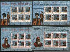 Francobollo Svizzera Vaticano 2005 Guardia Svizzera emissione congiunta fogliett