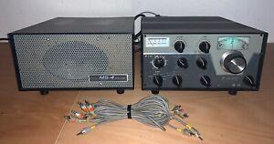 DRAKE Transmitter T-4XC # KW Amateurfunk Sender + MS-4 Netzteil / Speaker # TOP
