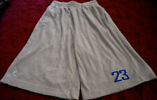 New MEN'S NIKE Air Jordan 23 BASKETBALL,SOCCER,TENNIS SHORTS GRAY Sz M -LAST ONE