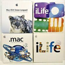 APPLE ILIFE'09 &'11 MAC OS X Snow Leopard &. software MAC LOTTO