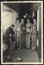 3 x OLD PHOTO-Nikko-japan-GEISHA-Hanamachi-GERMAN SOLDIERS WEHRMACHT
