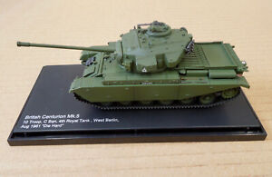 """1:72 BRITISH CENTURION Mk5 """"DIE HARD"""" 1961 WEST BERLIN HOBBYMASTER HG3502"""