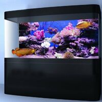 Coral HD Aquarium Background Poster Fish Tank Decoration Landscape Self  CA US