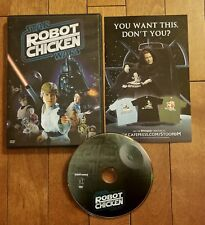 Robot Chicken Star Wars (DVD, 2008) Adult Swim *FREE SHIPPING*