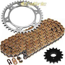 Golden O-Ring Drive Chain & Sprockets Kit Fits HONDA CBR600RR CBR600RA ABS 07-16