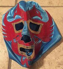 Dos Caras Luchadore Adult Wrestling Mask, EMLL, AAA, UWA, Lucha Loot Exclusive