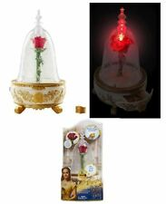 Beauty and BeastDisney  Enchanted Rose Belle Magic Jewelry Box Plays Music Glows