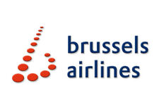 "Brussels Airlines Logo 3.25""x2.25"" Handmade Fridge Magnet (LM14160)"