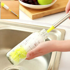Home Brew Long Handle Brush Bottle Cleaning Convenient Scrubbing Clean Tool