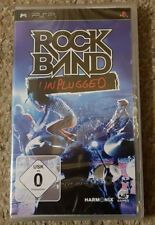 Sony PSP Game Rock Band Unplugged New Sealed German Version Rockband