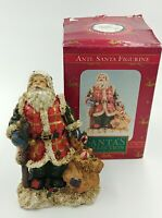 VTG Three Hands Corp Santa's Collection Santa Toy Bag Holiday Figurine 6.25""