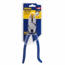 """Irwin Vise-Grip 9"""" Ironworker's Spring-Loaded Rebar Pliers With Cutters IP9"""