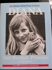 RARE -PRINCESS DIANA -OUR NORFOLK PRINCESS 1ST ED Hard Cover  FREE Shipping