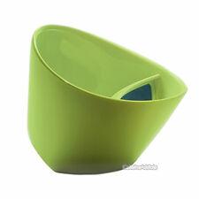 TIPPING TEACUP GREEN - TILTING TEA CUP INFUSER FILTER STEEPER STRAINER IN MUG