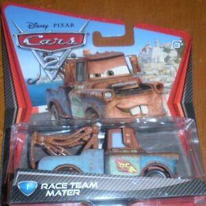 Disney*Pixar Cars 2 Race Team Mater #1 -New