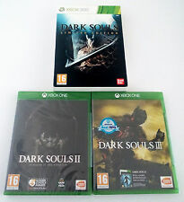 Dark Souls 1 Limited Edition Xbox 360 One 2 Scholar of the First Sin 3 III Games