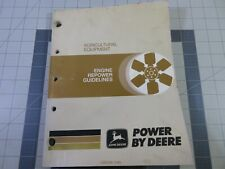 John Deere Service Manual Engine Repower Guidelines, Agricultural equipment