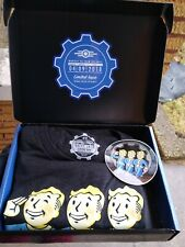 Fallout Vault Boy Of The Month Monthly Tee From The Vault Work with Others Shirt