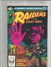 Raiders of the Lost Ark Movie Adaptation 1-3 (1981).  FULL SET!!  HIGH GRADE !!!
