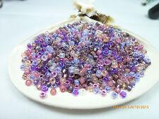 8/0 Miyuki Passion Flower  Glass Round Seed Beads 10Grams #8-Mix-06
