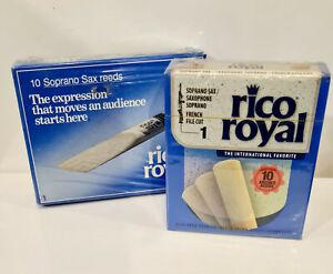 Rico Royal Soprano Saxophone #1 Box of 10 - Old Packaging