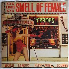 THE CRAMPS SMELL OF FEMALE LP 1st PRESSING