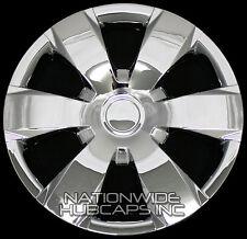 "4 New CHROME 16"" Hub Caps Full Wheel Covers Rim 6 Spoke Hubs fit Steel Wheels"