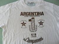 FIFA MEXICO 1986 WORLD CUP CHAMPION ARGENTINA Football Soccer Futbol Shirt~Men L
