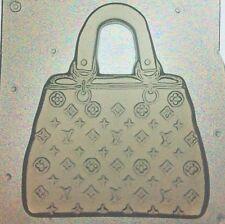 Resin Mold Designer Purse Or Hand Bag Mould Set of 2