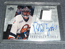 00-01 Upper Deck Game Jersey ROBERTO LUONGO Auto Patch Canadian Heroes L@@K