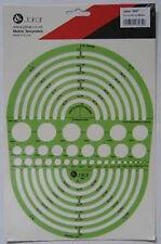 Modello JAKAR 4647-raggio del cerchio MASTER Stencil